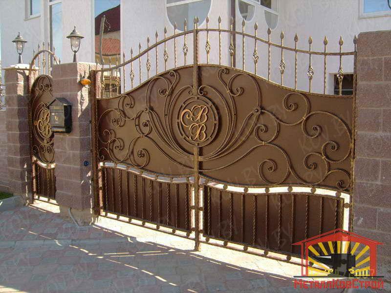 Ковка Ворота №005
