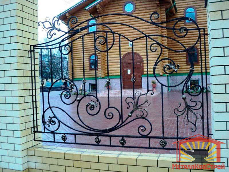 Забор кованый №045