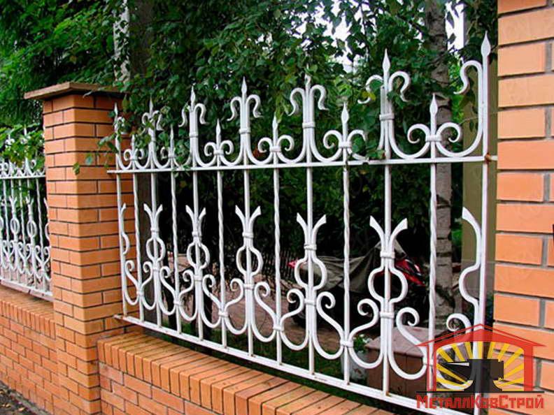 Забор кованый №037