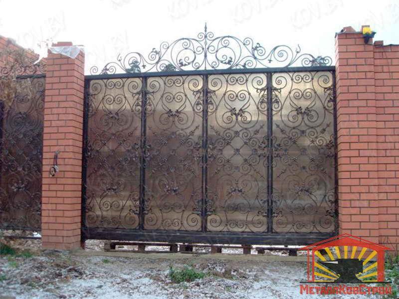 Ковка Ворота №058