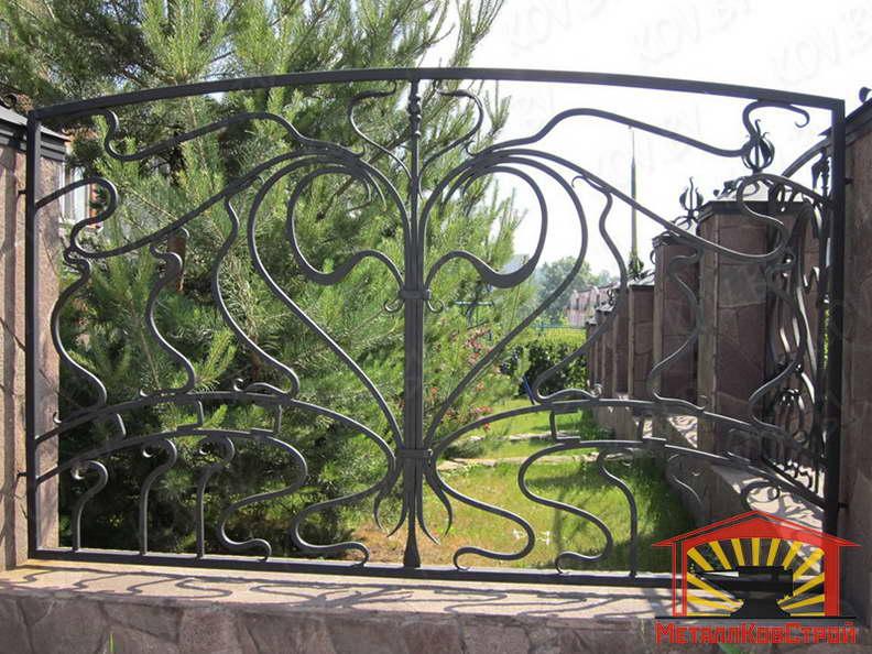 Забор кованый №007