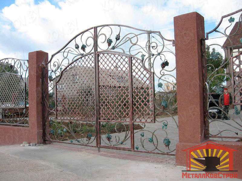 Ковка Ворота №055