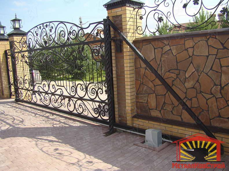 Ковка Ворота №053
