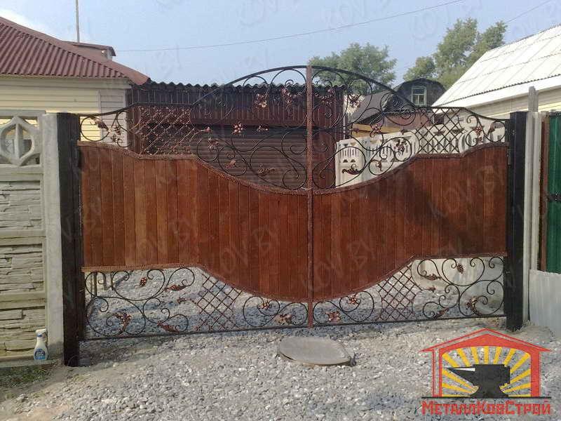 Штамповка Ворота №042