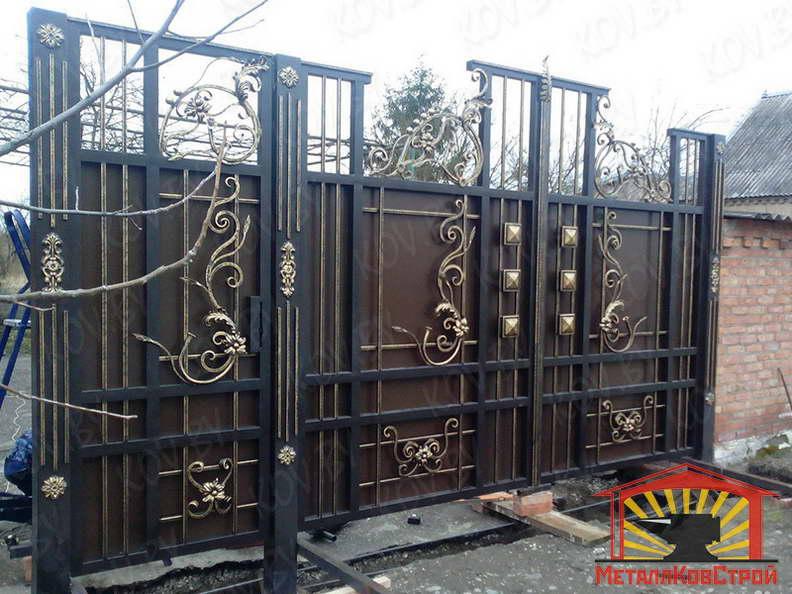 Ковка Ворота №049