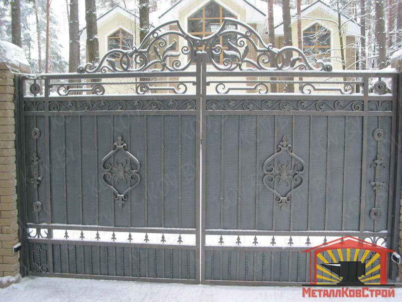 Ковка Ворота №016