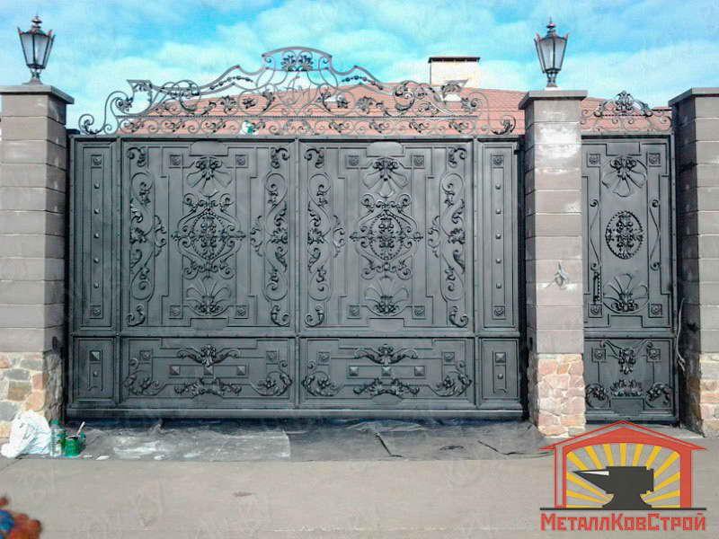 Ковка Ворота №083