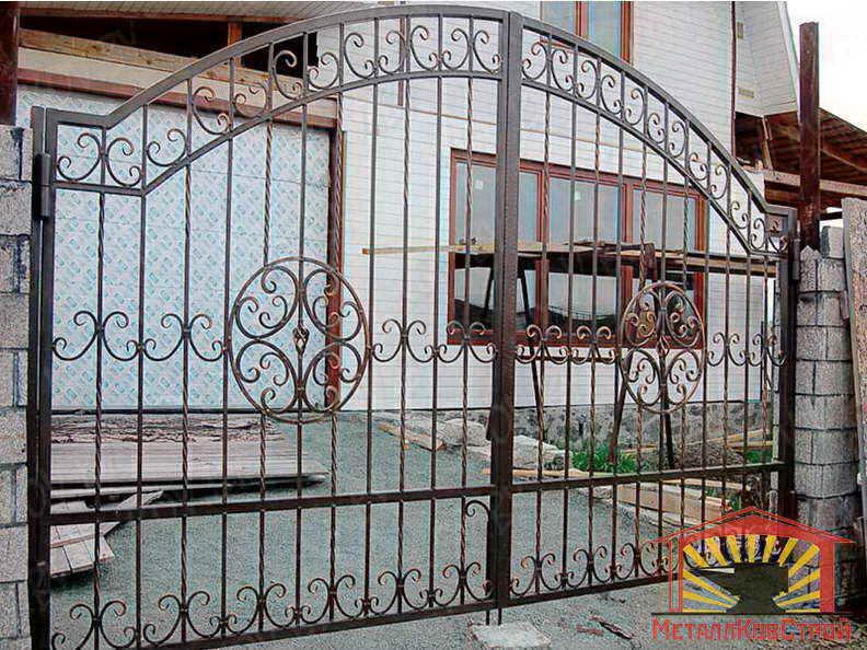 Штамповка Ворота №010