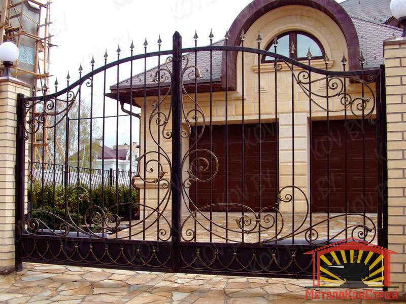 Ковка ворота №073