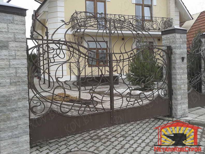 Ковка Ворота №001