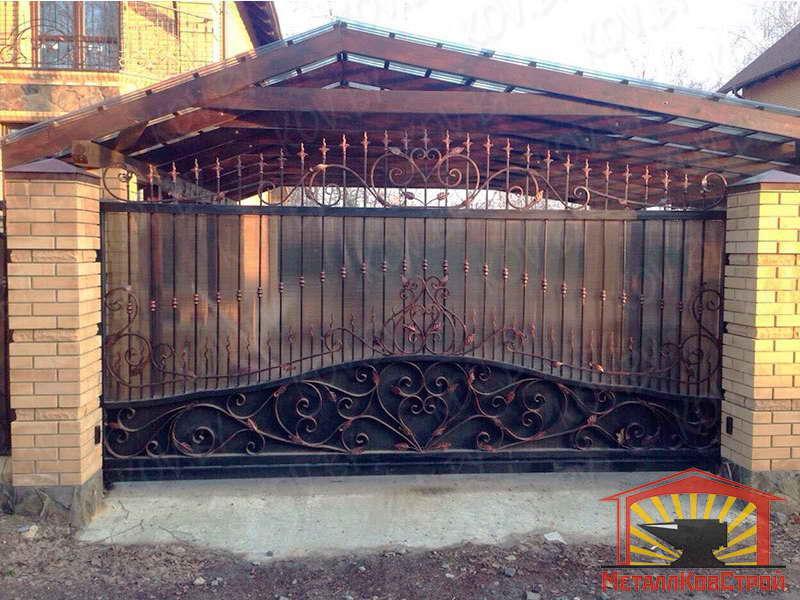 Ковка Ворота №046