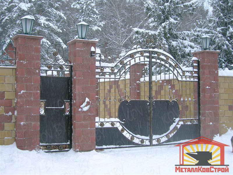 Ковка Ворота №050